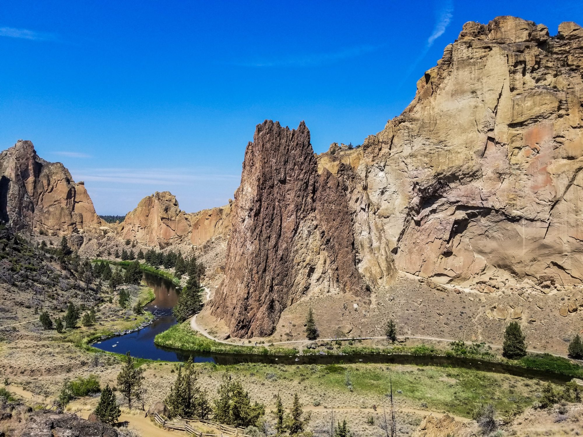 smith rock state park near bend or
