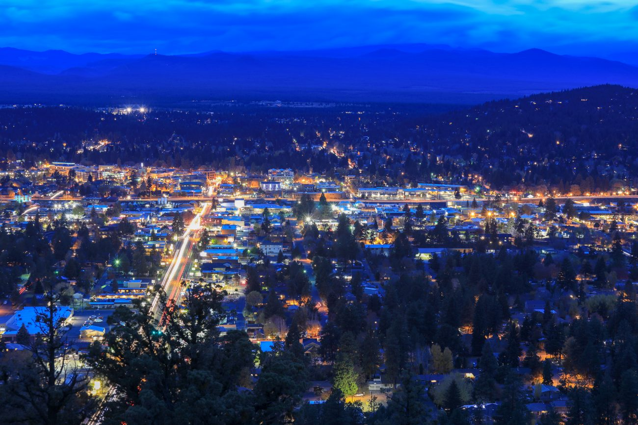 Bend Oregon - view from Pilot Butte
