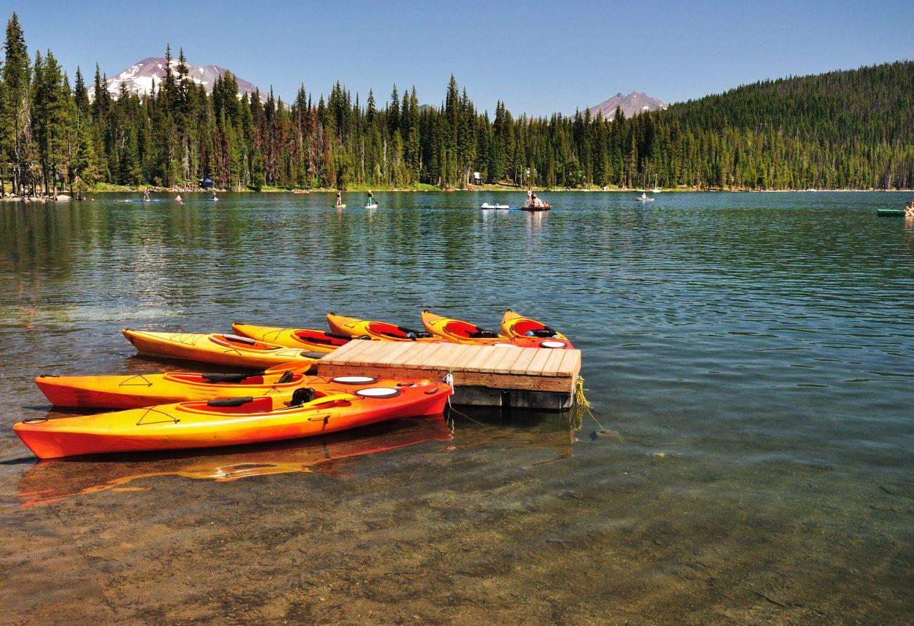 Oregon Summer Cascade Lakes