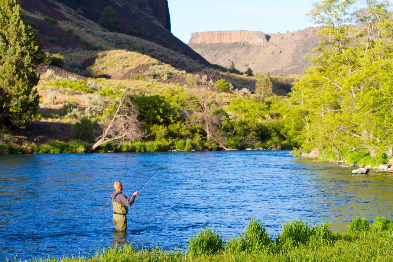 Fishing Deschutes River